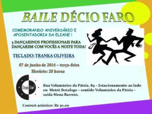 Baile Décio Faro | ChoppTime @ ChoppTime | Rio de Janeiro | Rio de Janeiro | Brasil